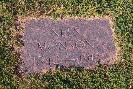 MONSON, NELS - Cass County, North Dakota   NELS MONSON - North Dakota Gravestone Photos