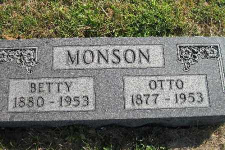 MONSON, OTTO - Cass County, North Dakota | OTTO MONSON - North Dakota Gravestone Photos
