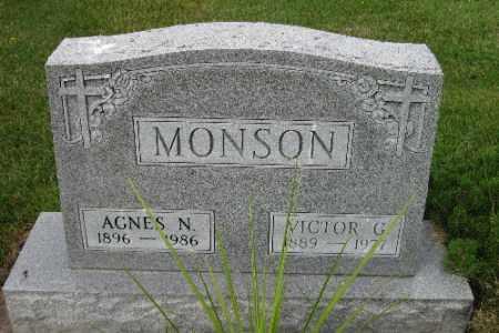 MONSON, VICTOR G. - Cass County, North Dakota | VICTOR G. MONSON - North Dakota Gravestone Photos