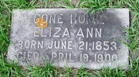 MONTGOMERY, ELIZA ANN - Cass County, North Dakota   ELIZA ANN MONTGOMERY - North Dakota Gravestone Photos