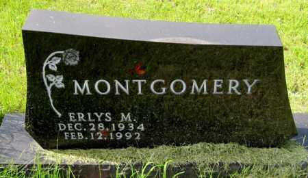 MONTGOMERY, ERLYS M. - Cass County, North Dakota   ERLYS M. MONTGOMERY - North Dakota Gravestone Photos