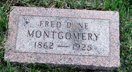 MONTGOMERY, FRED DANE - Cass County, North Dakota   FRED DANE MONTGOMERY - North Dakota Gravestone Photos