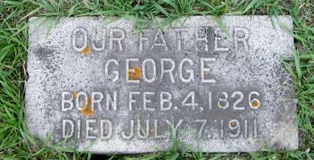 MONTGOMERY, GEORGE - Cass County, North Dakota   GEORGE MONTGOMERY - North Dakota Gravestone Photos