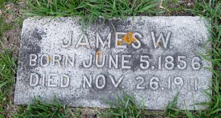 MONTGOMERY, JAMES W, - Cass County, North Dakota | JAMES W, MONTGOMERY - North Dakota Gravestone Photos