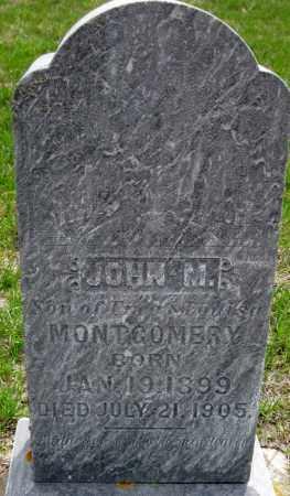 MONTGOMERY, JOHN M. - Cass County, North Dakota   JOHN M. MONTGOMERY - North Dakota Gravestone Photos