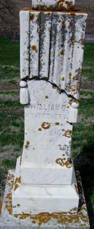MONTGOMERY, WILLIAM D. - Cass County, North Dakota | WILLIAM D. MONTGOMERY - North Dakota Gravestone Photos