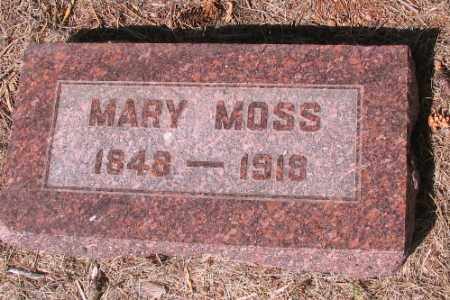 MOSS, MARY - Cass County, North Dakota | MARY MOSS - North Dakota Gravestone Photos