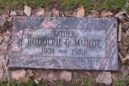 MUNDT, RUDOLPH G. - Cass County, North Dakota | RUDOLPH G. MUNDT - North Dakota Gravestone Photos