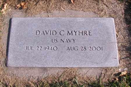 MYHRE, DAVID C. - Cass County, North Dakota | DAVID C. MYHRE - North Dakota Gravestone Photos