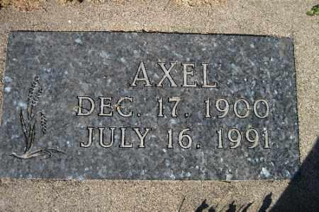 NELSON, AXEL - Cass County, North Dakota | AXEL NELSON - North Dakota Gravestone Photos