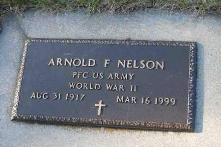 NELSON, ARNOLD F. - Cass County, North Dakota | ARNOLD F. NELSON - North Dakota Gravestone Photos