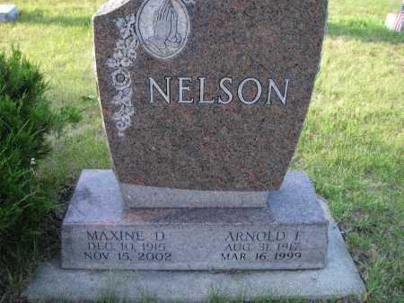 NELSON, MAXINE D. - Cass County, North Dakota | MAXINE D. NELSON - North Dakota Gravestone Photos