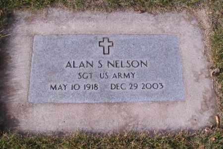 NELSON, ALAN S. - Cass County, North Dakota | ALAN S. NELSON - North Dakota Gravestone Photos