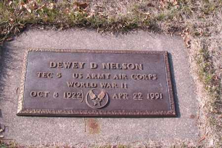 NELSON, DEWEY D. - Cass County, North Dakota | DEWEY D. NELSON - North Dakota Gravestone Photos