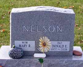 NELSON, DONALD E. - Cass County, North Dakota | DONALD E. NELSON - North Dakota Gravestone Photos