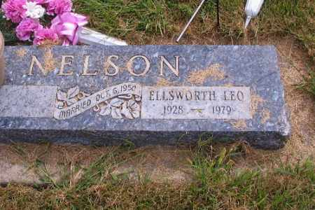 NELSON, ELLSWORTH LEO - Cass County, North Dakota | ELLSWORTH LEO NELSON - North Dakota Gravestone Photos