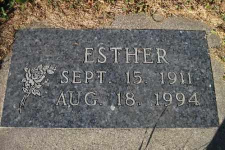 NELSON, ESTHER - Cass County, North Dakota | ESTHER NELSON - North Dakota Gravestone Photos
