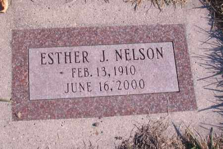 NELSON, ESTHER J. - Cass County, North Dakota | ESTHER J. NELSON - North Dakota Gravestone Photos