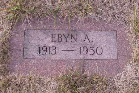 NELSON, EBYN A. - Cass County, North Dakota | EBYN A. NELSON - North Dakota Gravestone Photos