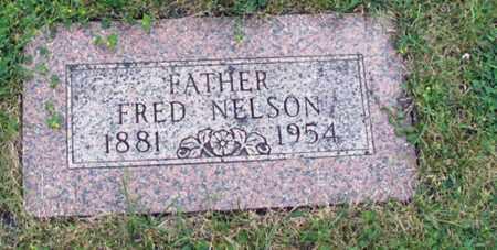 NELSON, FRED - Cass County, North Dakota   FRED NELSON - North Dakota Gravestone Photos