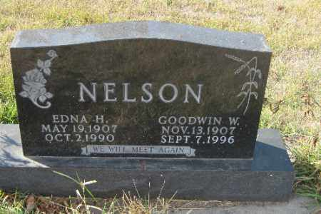 NELSON, GOODWIN W. - Cass County, North Dakota   GOODWIN W. NELSON - North Dakota Gravestone Photos