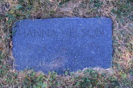 NELSON, HANNAH - Cass County, North Dakota | HANNAH NELSON - North Dakota Gravestone Photos