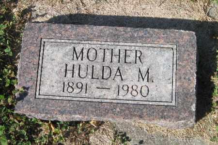 NELSON, HULDA M. - Cass County, North Dakota | HULDA M. NELSON - North Dakota Gravestone Photos