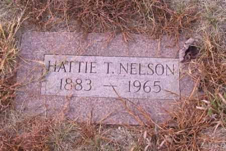 NELSON, HATTIE T. - Cass County, North Dakota | HATTIE T. NELSON - North Dakota Gravestone Photos