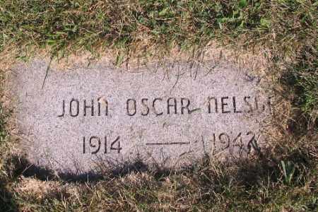 NELSON, JOHN OSCAR - Cass County, North Dakota | JOHN OSCAR NELSON - North Dakota Gravestone Photos