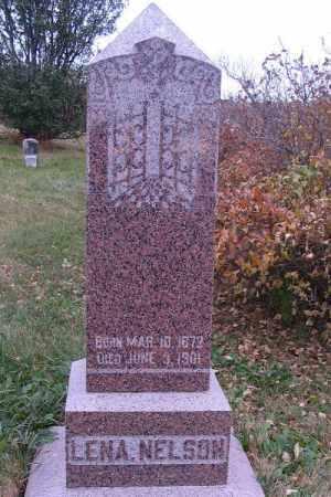 NELSON, LENA - Cass County, North Dakota | LENA NELSON - North Dakota Gravestone Photos