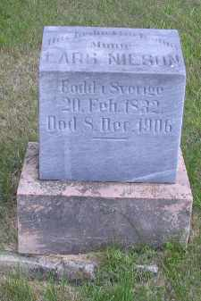 NELSON, LARS - Cass County, North Dakota   LARS NELSON - North Dakota Gravestone Photos