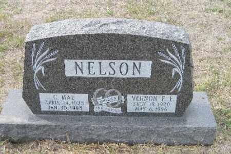 NELSON, VERNON F. E. - Cass County, North Dakota | VERNON F. E. NELSON - North Dakota Gravestone Photos