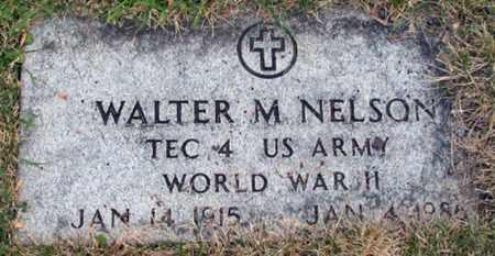NELSON, WALTER M. - Cass County, North Dakota | WALTER M. NELSON - North Dakota Gravestone Photos