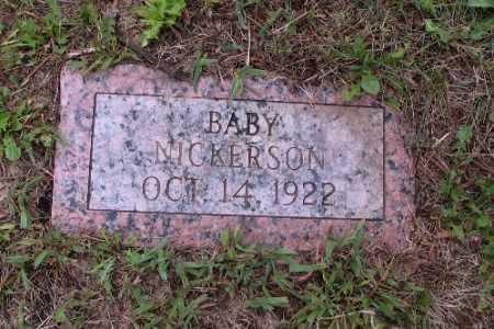 NICKERSON, BABY - Cass County, North Dakota   BABY NICKERSON - North Dakota Gravestone Photos