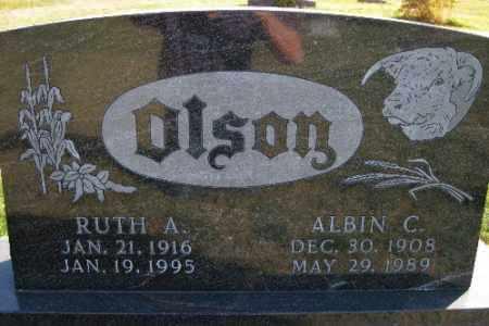OLSON, RUTH A. - Cass County, North Dakota | RUTH A. OLSON - North Dakota Gravestone Photos