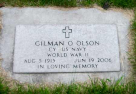 OLSON, GILMAN O. - Cass County, North Dakota | GILMAN O. OLSON - North Dakota Gravestone Photos