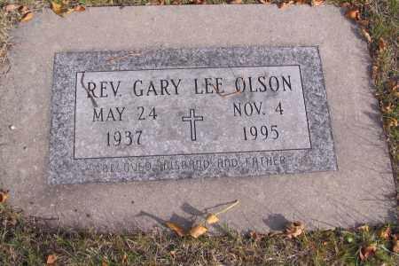 OLSON, GARY LEE, REV. - Cass County, North Dakota | GARY LEE, REV. OLSON - North Dakota Gravestone Photos