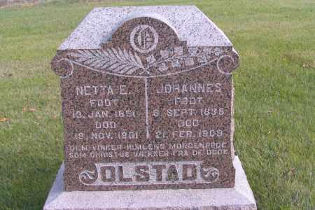 OLSTAD, JOHANNES - Cass County, North Dakota | JOHANNES OLSTAD - North Dakota Gravestone Photos