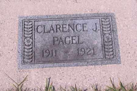 PAGEL, CLARENCE J. - Cass County, North Dakota | CLARENCE J. PAGEL - North Dakota Gravestone Photos