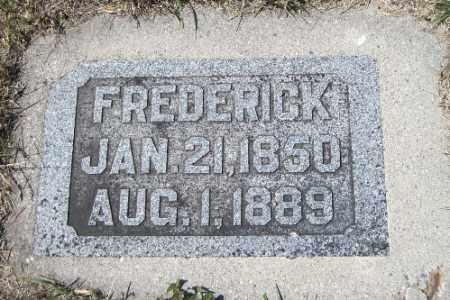 PAGEL, FREDERICK - Cass County, North Dakota   FREDERICK PAGEL - North Dakota Gravestone Photos