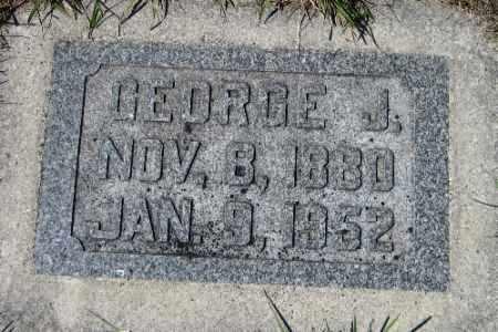 PAGEL, GEORGE J. - Cass County, North Dakota | GEORGE J. PAGEL - North Dakota Gravestone Photos