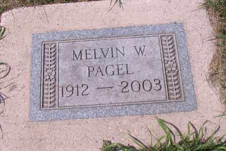PAGEL, MELVIN W. - Cass County, North Dakota | MELVIN W. PAGEL - North Dakota Gravestone Photos