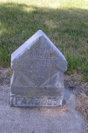 PARSLEY, PEARL - Cass County, North Dakota | PEARL PARSLEY - North Dakota Gravestone Photos