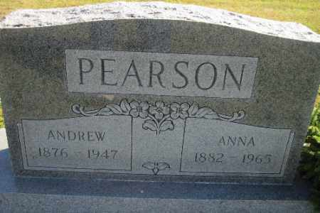PEARSON, ANNA - Cass County, North Dakota | ANNA PEARSON - North Dakota Gravestone Photos
