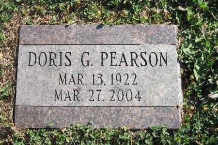 PEARSON, DORIS G. - Cass County, North Dakota   DORIS G. PEARSON - North Dakota Gravestone Photos
