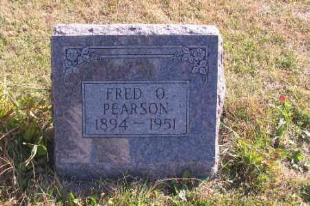 PEARSON, FRED O. - Cass County, North Dakota | FRED O. PEARSON - North Dakota Gravestone Photos