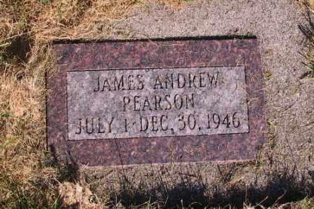 PEARSON, JAMES ANDREW - Cass County, North Dakota | JAMES ANDREW PEARSON - North Dakota Gravestone Photos