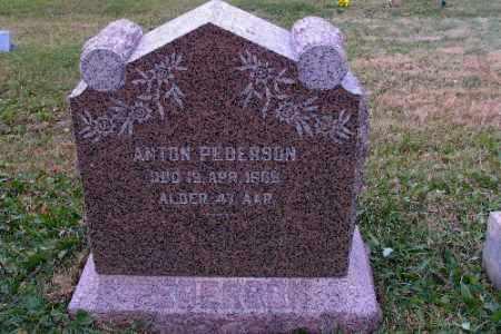 PEDERSON, ANTON - Cass County, North Dakota | ANTON PEDERSON - North Dakota Gravestone Photos
