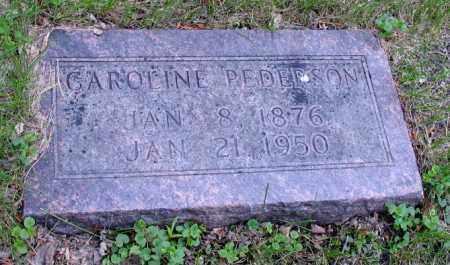 PEDERSON, CAROLINE - Cass County, North Dakota   CAROLINE PEDERSON - North Dakota Gravestone Photos