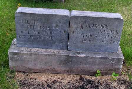 PEDERSON, CLARENCE - Cass County, North Dakota | CLARENCE PEDERSON - North Dakota Gravestone Photos